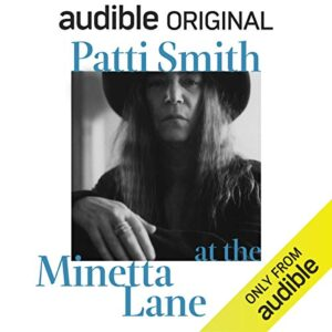 Patti Smith at the Minetta Lane