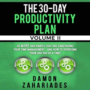The 30-Day Productivity Plan - Volume II